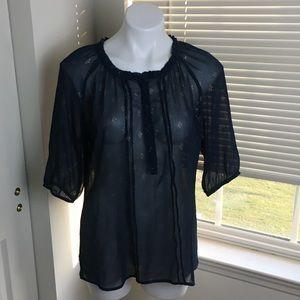 Dressbarn sheer blouse